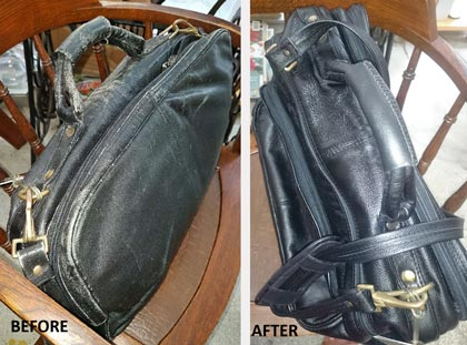 Handbag repair and restore